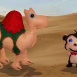 La scimmia e il cammello