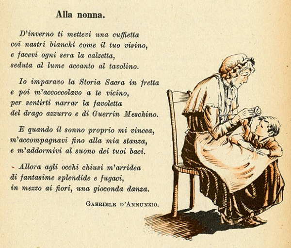 Célèbre Alla nonna - I testi della tradizione di Filastrocche.it GJ95
