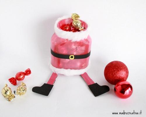 Realizziamo un porta cioccolatini con esperienzacreativa - Babbo natale porta i regali ai bambini ...