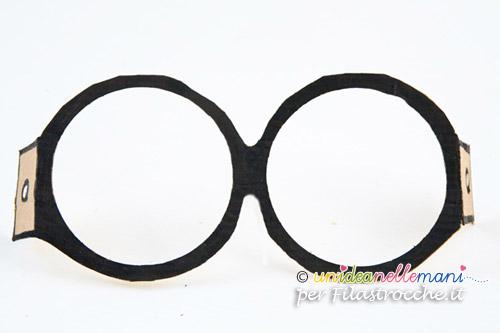 occhiali harry potter, occhiali harry potter fai da te, occhiali harry potter carnevale, occhiali da harry potter,