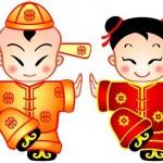 Ci e Ce, due cinesi di marzapane