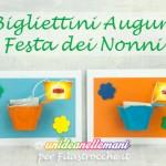 Lavoretti Festa dei Nonni: il Bigliettino di Auguri in 3D