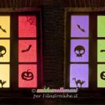 Decorazioni di Halloween per finestre
