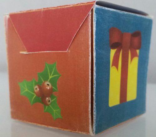 Calendario dell'Avvento con scatoline