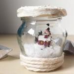 Lavoretti di Natale: Neve sotto vetro