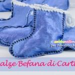 Come fare calze della Befana di carta