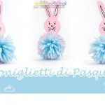 Coniglietti di Pasqua fai da te per bambini