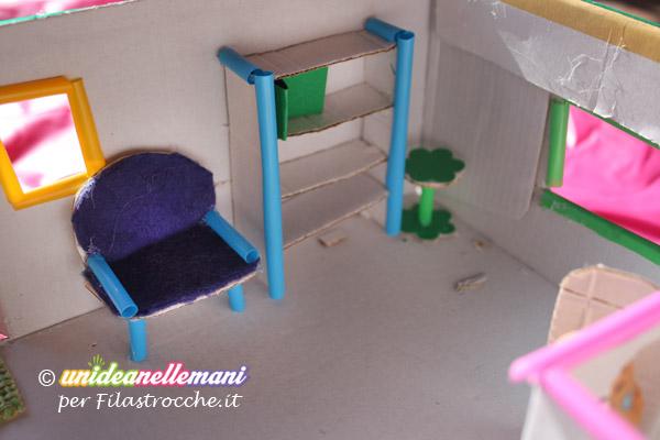 Favoloso Come fare una Casa delle Bambole fai da te in miniatura SD55