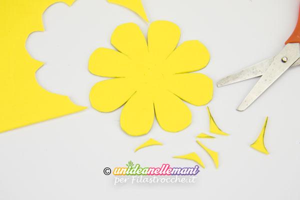 Assez Lavoretti per la Festa della Mamma: fermacarte a forma di fiore WL15