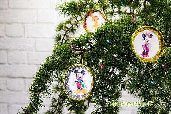 Decorazioni natalizie da appendere con i personaggi disney for Decorazioni natalizie in legno da appendere