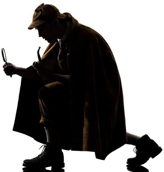 Sherlock Holmes va in campeggio