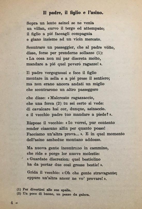 Il padre il figlio e l asino poesia di lorenzo pignotti - Donazione di un immobile ad un figlio ...