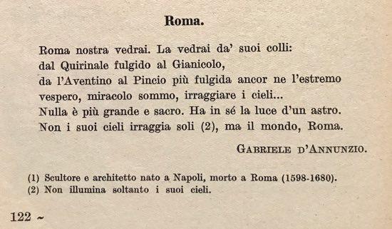 Roma poesia di gabriele d 39 annunzio testi d 39 autore di - La finestra del mondo poesia ...