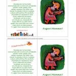 Biglietto d'Auguri per la Festa della Mamma – Chitarra con filastrocca