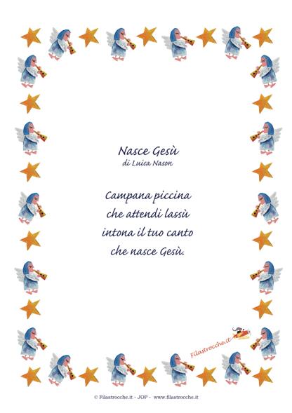 Idea regalo per natale poesia in cornice nasce ges for Sito web dove puoi costruire la tua casa