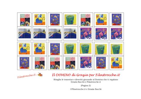 Gioco domino stampa disegna e crea con - Domino gioco da tavolo ...