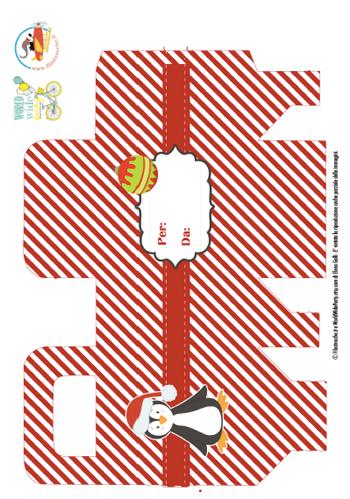 Scatola porta regali di natale stampa disegna e crea for Te lo regalo se vieni a prenderlo sito