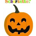Halloween in condominio: zucca da appendere sulla porta