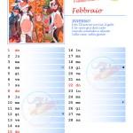 Calendario 2015 con note – Febbraio