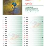 Calendario 2015 con note – Aprile