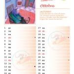 Calendario 2015 con note – Ottobre