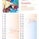 Calendario 2015 con note – Dicembre