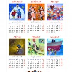 Calendario 2016 Illustrato Semestrale:  Gennaio – Giugno