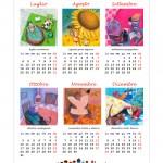 Calendario 2016 Illustrato Semestrale: 12 mesi