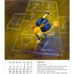 Calendario 2016 Illustrato – Aprile
