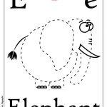ABC book: Abbecedario inglese: Lettera E, versione unisci i puntini