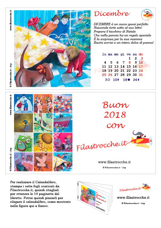 Calendalibro 2017 - Dicembre e copertina finale