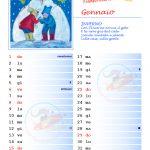 Calendario 2017 con note – Gennaio