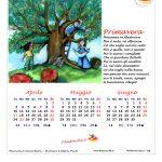 Calendario 2017 Stagionale – Primavera, Prima versione