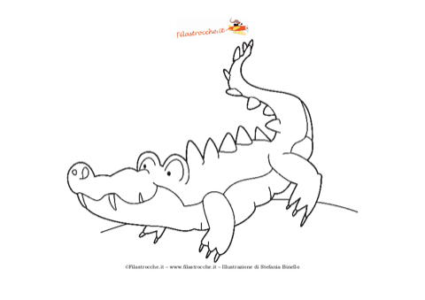 Pin stampa disegno doraemon nobita colorare ajilbabcom for Coccodrillo da colorare
