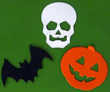 decorazioni per halloween: sagome spaventose - filastrocche.it - Decorazioni Per Finestre Halloween