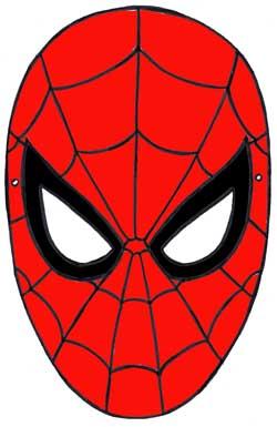 Maschera da uomo ragno stampabile gratuita - Immagini da colorare dell uomo ragno ...