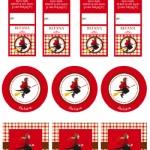 Etichette per l'Epifania: decora i dolci della Befana
