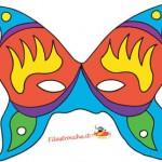 Le maschere di Carnevale da stampare