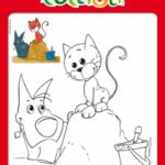 Disegni da colorare per le Vacanze con i Cuccioli