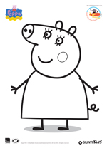 Disegni da colorare di Peppa Pig
