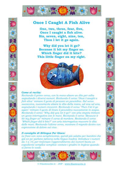 Eccezionale Bilinguismo: Imparare l'inglese cantando - Filastrocche.it LL33