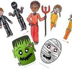 Halloween, costumi fai da te