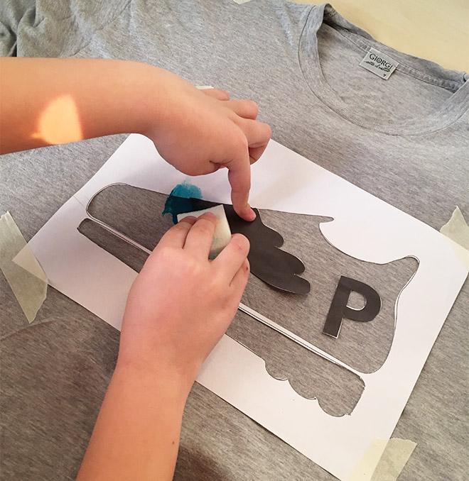 Ben noto Stencil fai da te per il Papà Runner - Idea Regalo per il Papà MU37