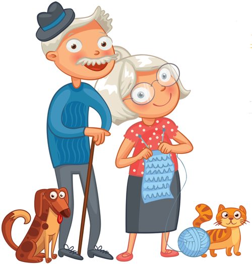 Ben noto Festa dei Nonni! Speciale per la Festa della Nonna e del Nonno! ZZ33