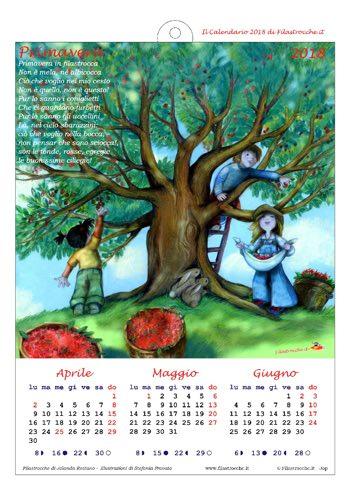Calendari 2018 stagionali
