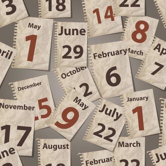 Calendario delle Giornate Mondiali