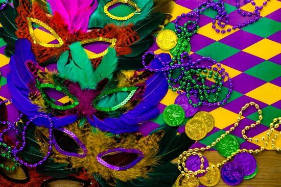 decorazioni per Carnevale