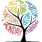 I giorni della settimana