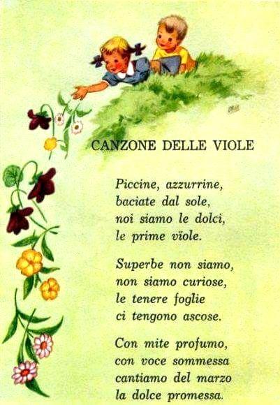 canzone delle viole