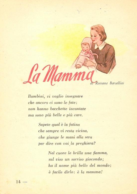 La Mamma Di Rossana Barsellini La Festa Della Mamma Su